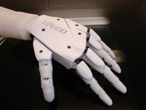 Left Hand robot InMoov