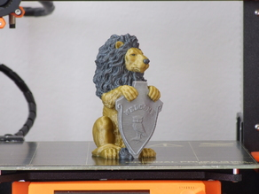 Lion Statue (multi-color)