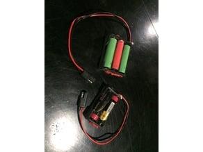 18650 Battery Holder/Sled x1,2,3,4
