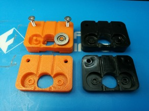 Wanhao 4 MK8 original extruder replacement