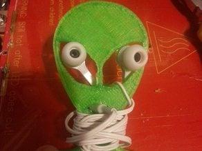 Alien EarPhone Holder/Tidy/WrapAround