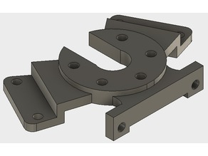 Dual Attachment Effector Bracket for FL Sun or Delta Kossel Mini Printers