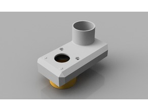 Dusticus - High-Z CNC dust hood