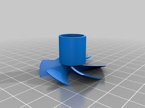 Prusa i3 X axis motor rotation indicator TURBINE fan