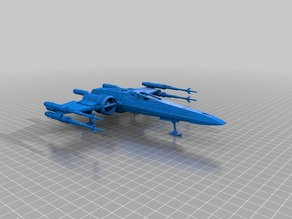Incom T-70 X-Wing Starfighter - 1/64 scale