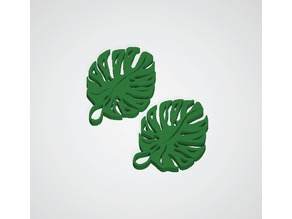Leaf Earrings 1