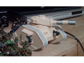 28mm battle tank