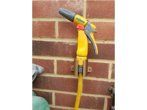Garden hose clip