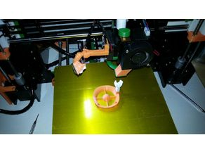 Mk8 Extruder led light