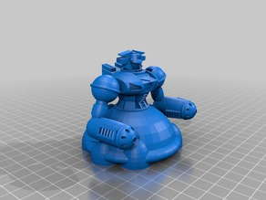 Heavy Assault Mecha Prajurit-Type for the Heavy MetalGods Role Playing Game