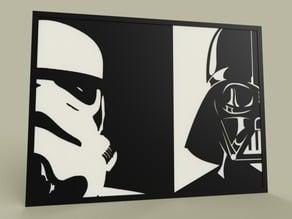 StarWars - StormTrooper - Darth Vader