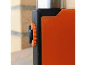 Box Mod bottom feeder mechanical with square push button lock (v3b p&p)
