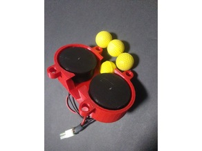 Nerf Rival Flywheels and Cage
