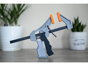 Printable Quick Grip Trigger Clamp (Functional)