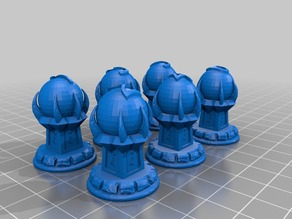 Claw Orb Objective Markers