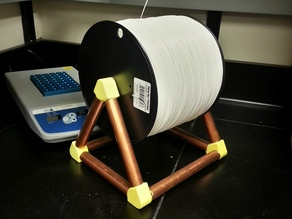 Holder for large spools (e.g. 10 lb PLA)