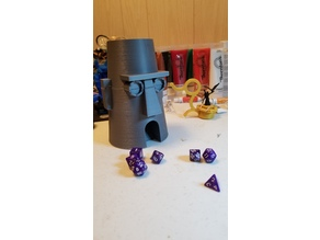 Squidward House Dice Tower