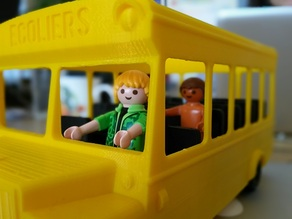 Playmo school bus