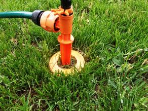 Sprinkler place-marker