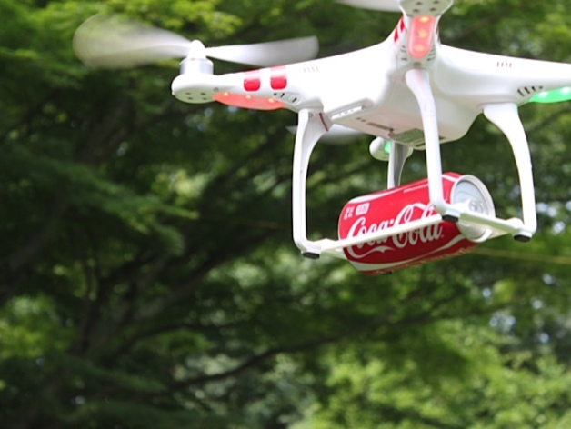 Soda Delivery Drone System (SDDS) by ATECH - Thingiverse