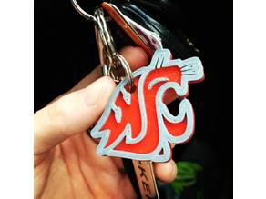 WSU Keychain