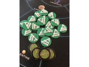 Firefly The Game - Completed tokens