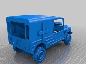 Army Ambulance Jeep