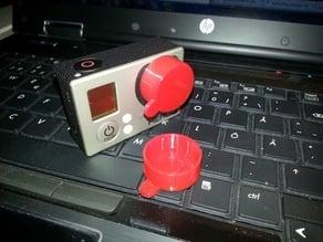 GoPro Hero 3 Lens Cap (NinjaFlex)