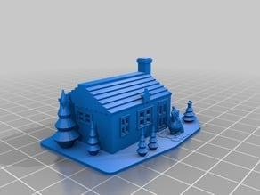 Small Christmas House