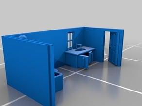 Mini Furniture (Bathroom/Walls(1))
