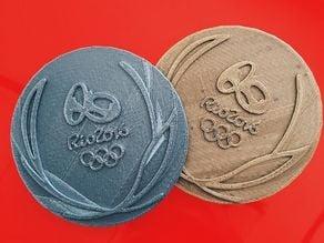 Olympics Medal - Rio 2016