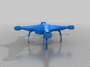 Dji phantom quadcopter style shell / frame