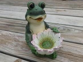 Frog Flower Bowl