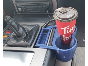 Fiero ashtray cupholder