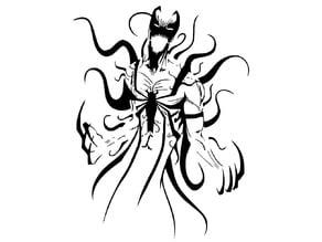 Anti Venom stencil