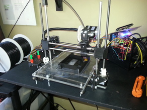 Printrbot 2.0 Derived + 20x4 LCD Controller (WIP)
