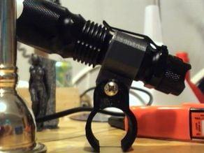 J5 Tactical Flashlight bike mount