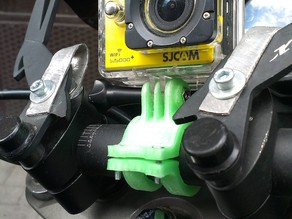 GoPro/SJCAM handbar mount for motorbike/bike