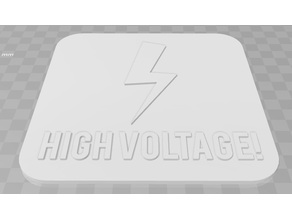 High Voltage Signage