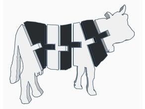 Flexi Cow (Dual Extrusion)