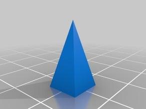 Tetragonal Pyramid