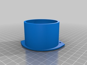 Racquetball foot for Anycubic Kossel