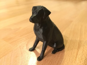 Low Poly Labrador (Female Version)