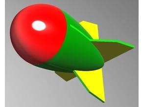Missile 味噌 みそ 火箭 Rocket grenade