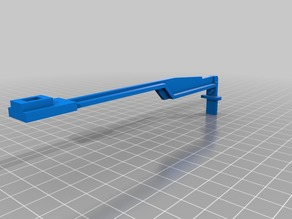 Arm for a KC-9160 Miter Saw safety mechanism