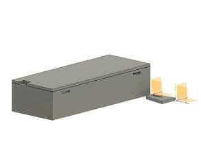 Vaterra Ascender K5 Battery Tray