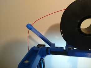 Filament Guide for CR-10 Top Mount Filament Roller