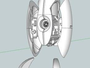 portal turret repaired