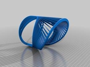 Geometric bracelet / angle- bridge test
