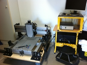 CNC router built from other designs
